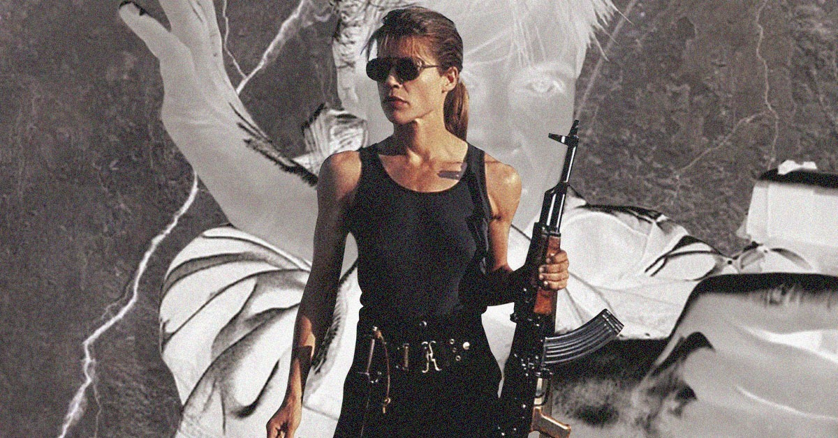 Women Are Badass - Sarah Connor