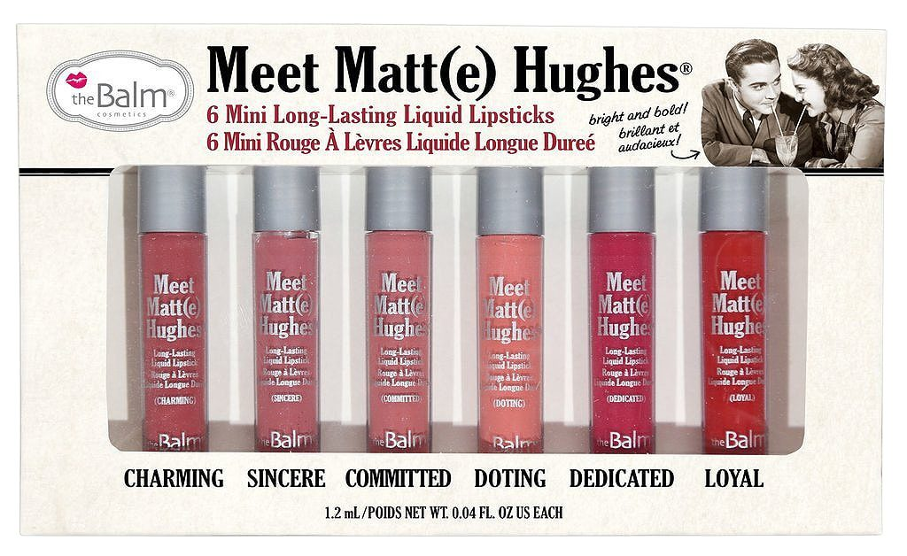 Meet Matt(e) Hughes 6 mini long lasting liquid lipsticks