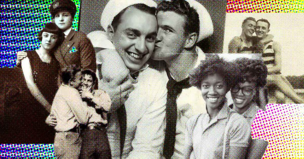 Vintage Photos of LGBT Couples