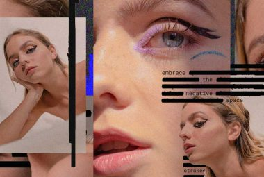 Warning: Graphic Content - Liquid Liner Beauty Editorial