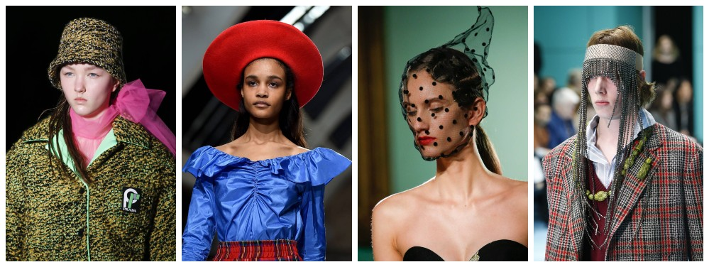 Head Strong - Ugly Pretty Looks We Want to Wear from the FW 2018 Runways | Wonder
