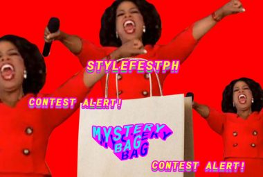 Join the What's in the Mystery Bag Contest at stylefestph