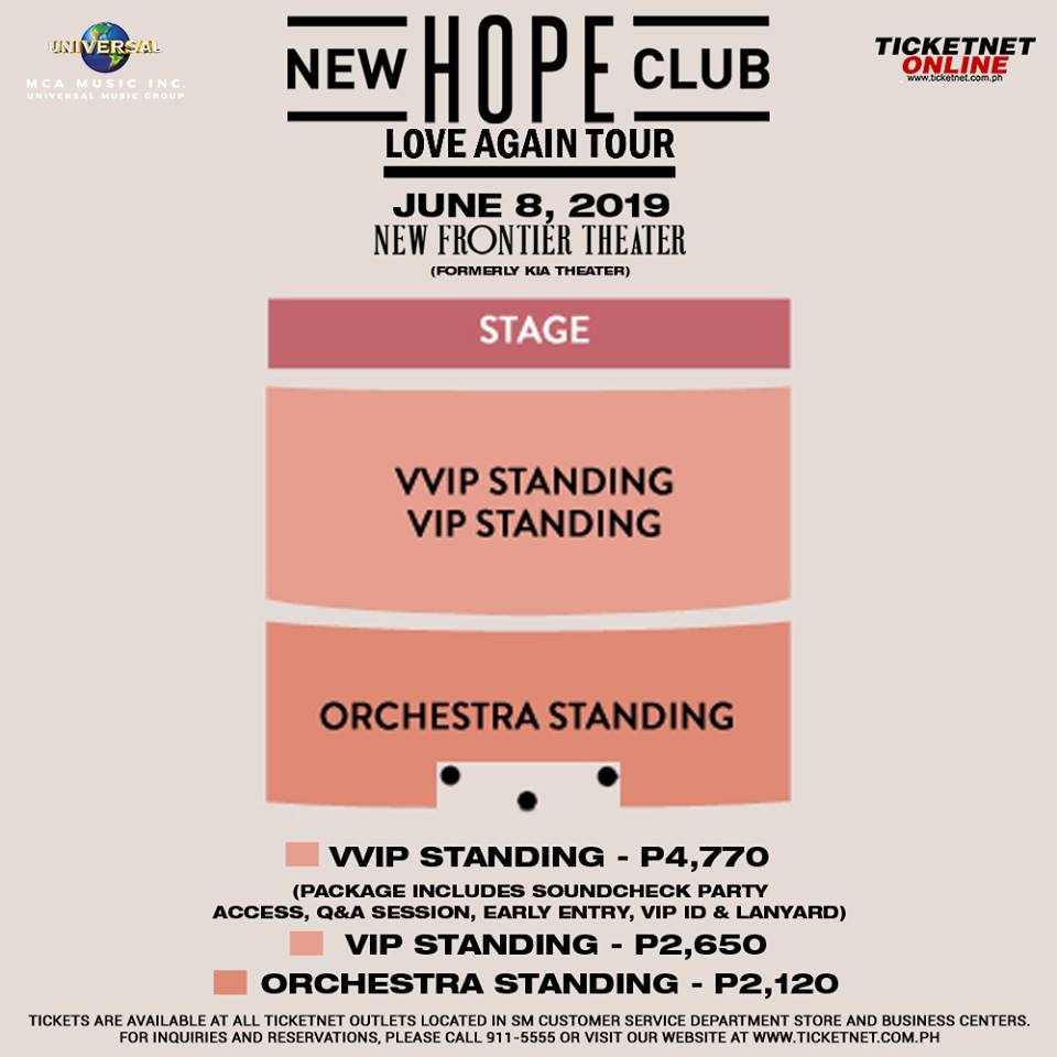 New Hope Club Is Heading Back to Manila