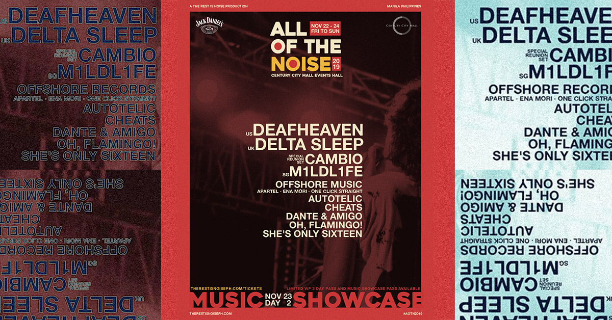 All Of The Noise 2019 Music Lineup: It's On