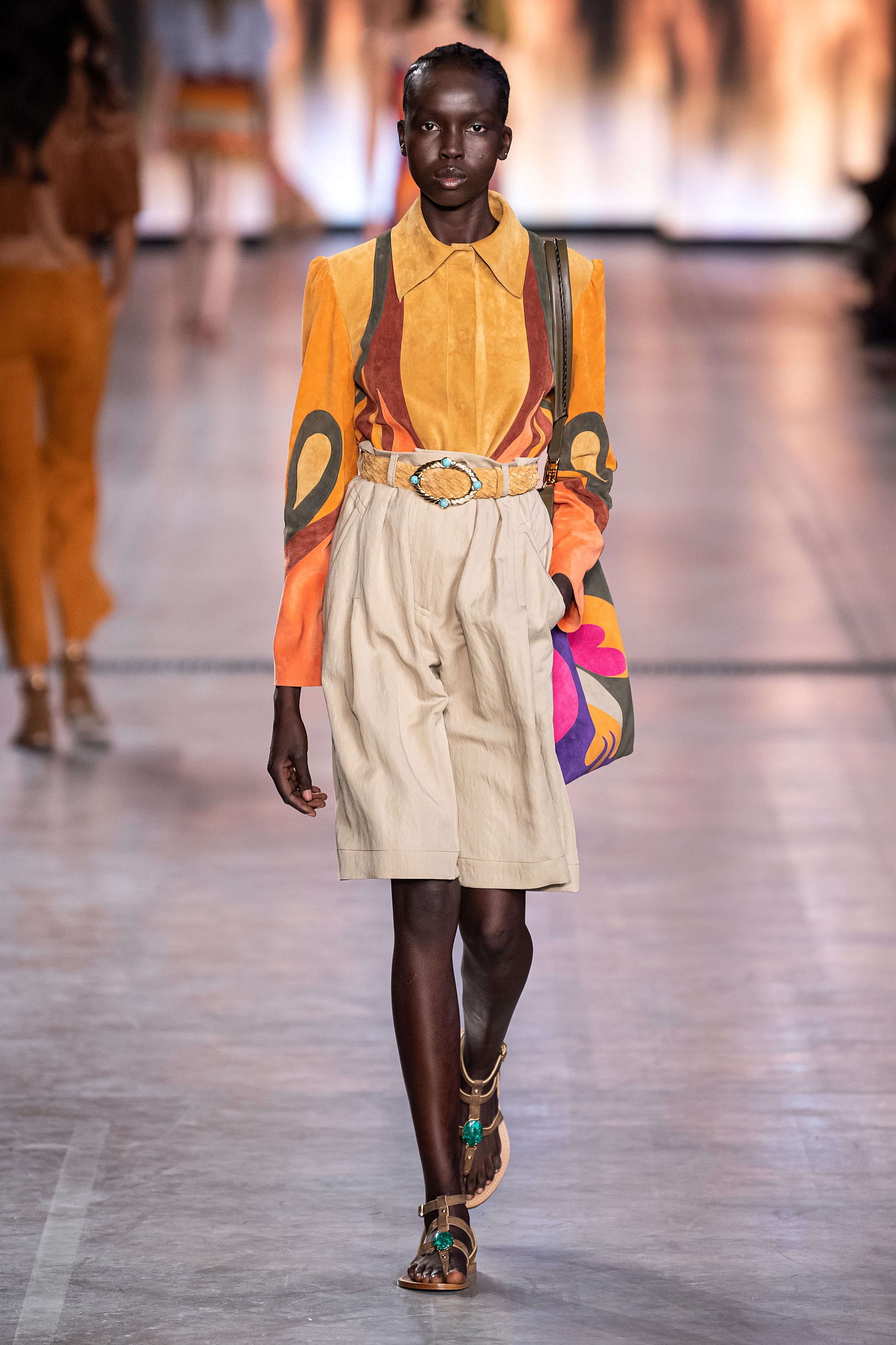 Notable Trends, a Lesson in Tact and Times A-Changing at Milan Fashion Week – Alberta Ferretti